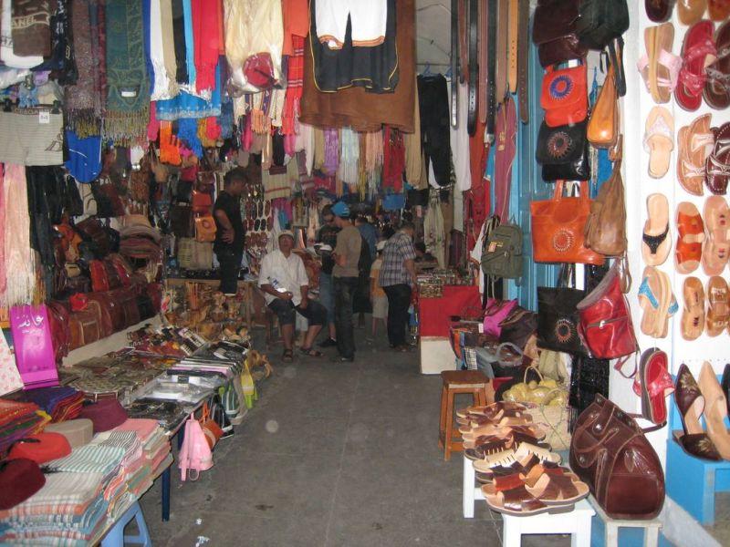 Shopping Et Repas Tunisien